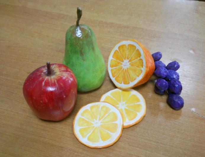 Муляж овощи своими руками